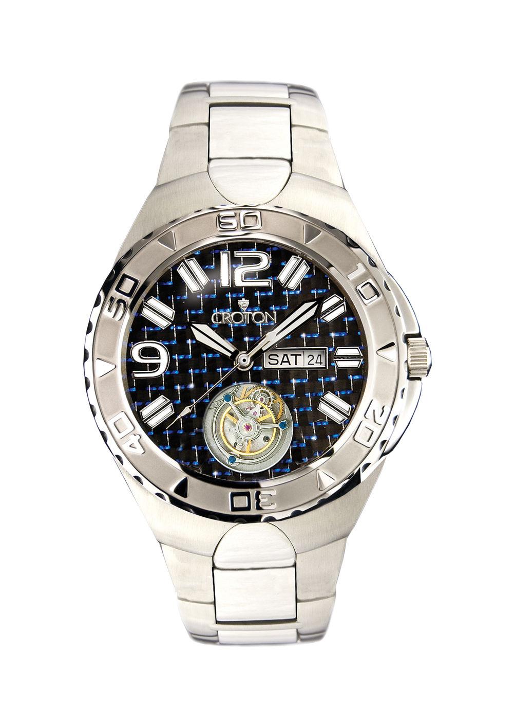 men s croton watch c cn307423ssbl 2 437 50 fine jewelry for men s croton watch